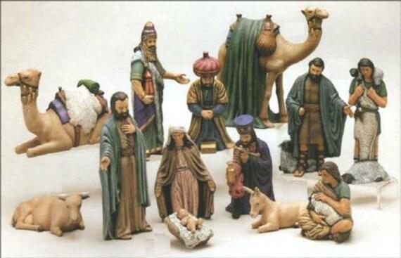 Christmas Nativity Duncan 15 Piece Set Ceramic Bisque Ready