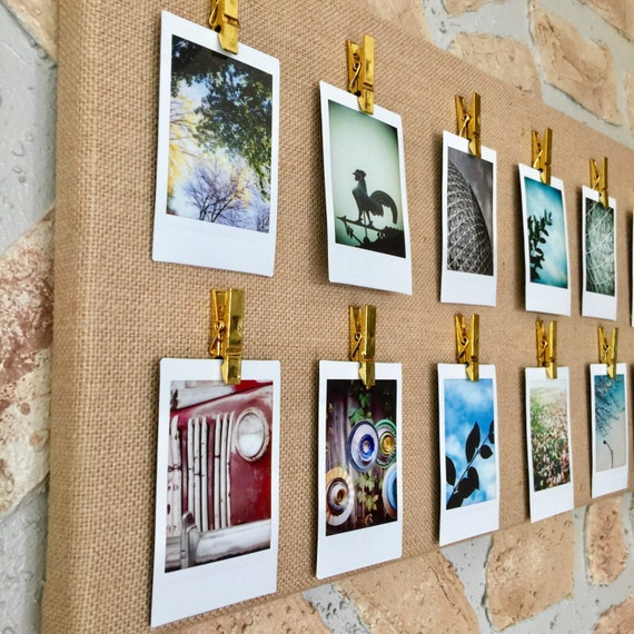 Displaying Photography: Instant Photo Display : Instax Mini Display Canvas Square