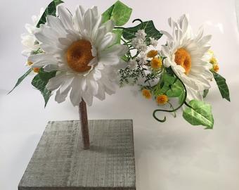 Daisy flower crown