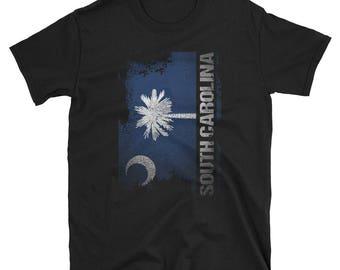 South Carolina State Flag T-Shirt South Carolina Hometown Shirt South Carolina Gift