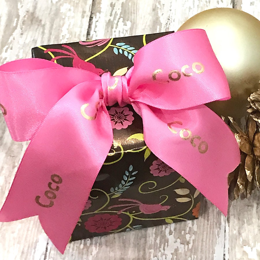 1.5 Personalized Ribbon Holiday Ribbon Printed Ribbon