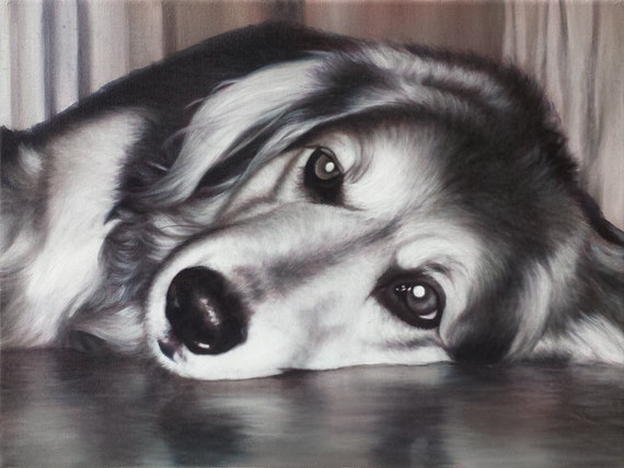 Custom Pet Portrait - Oil Painting - Dog Painting - Order Your Very Own