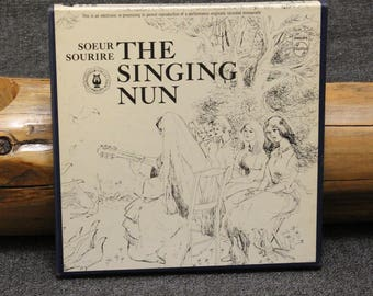 Singing Nun Soeur Sourire 7-1/2 Philips Reel to Reel Tape Play Tested EXC