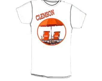 Clemson Tiger Fan Tee Shirt