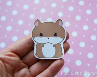 Chibi Hamster Stickers and Magnets