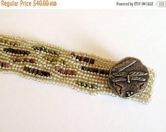 Vente de semaine prix un demi Bracelet de perles à chevrons