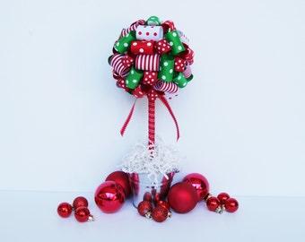 Christmas Centerpiece / Holiday centerpiece / Christmas decorations / Christmas center pieces / Christmas party decorations / Centerpieces