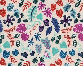 Cotton + Steel - Lagoon by Rashinda Coleman-Hale - Leafy Wonder Natural - Modern Maker Box