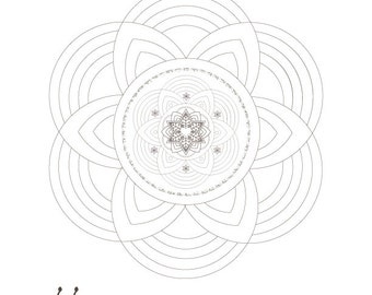 Passover Coloring Book-5 Jewish Mandalas Templates Printables-Hebrew Prayers and Blessings-Meditative Art-INSTANT DOWNLOAD by @zebratoys
