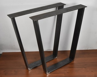 Table Legs, Table, Metal Legs, Dining Table, Desk Legs, Desk, Furniture Legs, Steel Legs, Industrial Table, set of 2