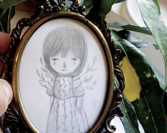 Mimì - original drawing on paper
