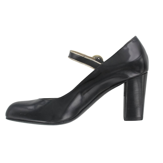 women Women leather pumps leather black woman leather shoes leather ankle strap Black shoes pump pump babies Black Woman handmade pump 1wStIa6xq