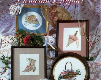 Ribbon Embroidery for Cross Stitchers Victorian Elegance