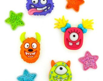 Dress it up! Establishment Buttons Monster Mash Halloween
