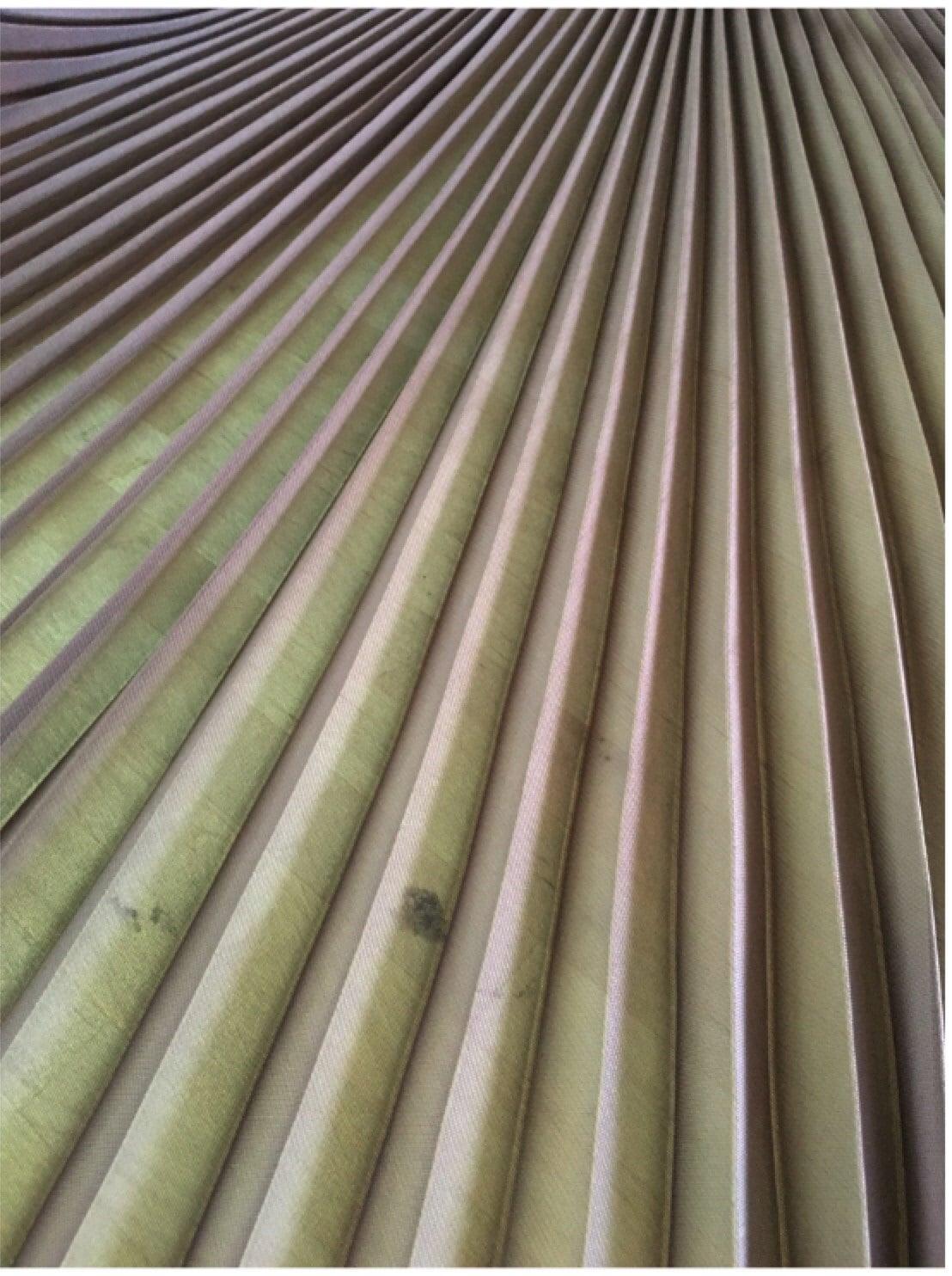 Plissee-Chiffon-Panel in Farbe braun, einfarbig chiffon Tuch ...