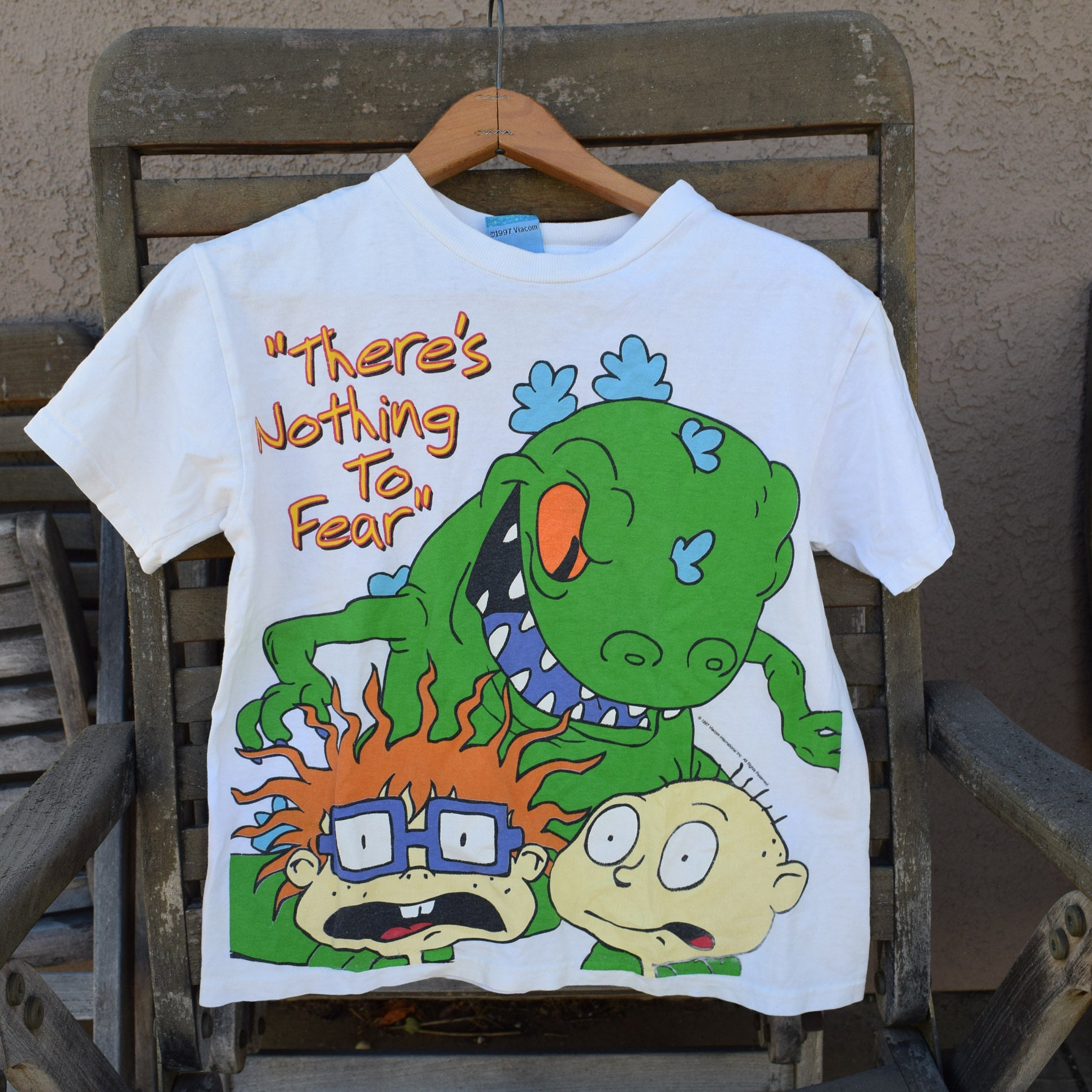 Vintage 1997 Rugrats Kids T-Shirt There\'s Nothing to