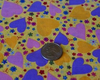 "3 Yards x 44""  Wide Valentine Cotton Fabric"