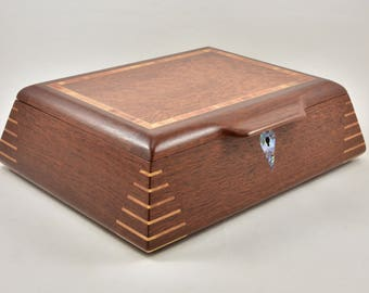 Jewellery Box, Jewellery Storage, Wood Jewellery Box, Wood Jewellery Storage Box, gift for her.