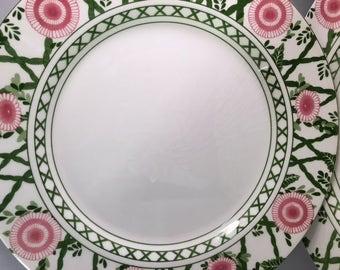 RARE 7 QUADRIFOGLIO La Primula plates ITALY vintage