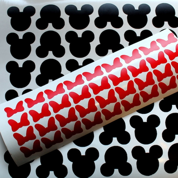 144 Minnie Mouse Vinyl Decal Stickers Wallpaper
