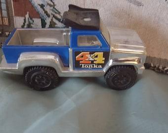 Tonka Mini Vintage Blue Tonka Truck