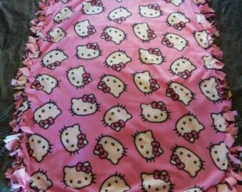 Hello Kitty throw (sold)