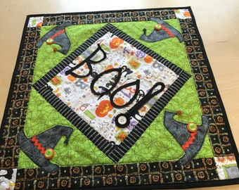 BOO- Halloween Table Runner