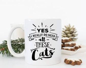 Cat Mug, Funny Cat mug,Cat Dad Mug, Cat owner Gifts,Funny Cat Gifts,Mug for Dad, Cat Parent gifts, Cat Coffee Mug,Cat lover Birthday Gift
