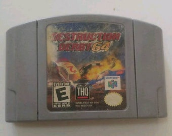 Destruction Derby 64, nintendo 64 game, cosmética wear