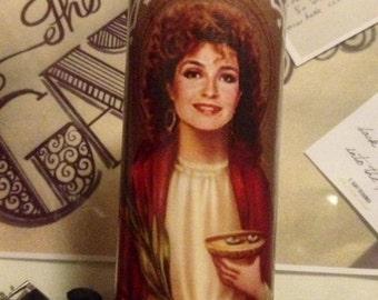 Mary Jo Designing Women Sugarbaker Prayer Candle