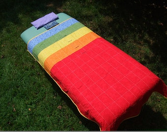 Chakra Balancing Quilt Set© of Sacred Geometry