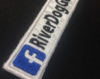 Custom Embroidered Facebook Patch