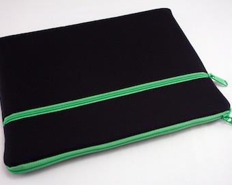 iPad Pro 10.5 case, iPad Pro case 12.9, ipad mini 4 sleeve chromebook pro case, Samsung galaxy tab a 10.1 case, Kindle sleeve-Green Midnight