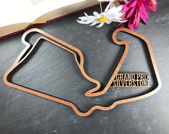 Silverstone Grand Prix Circuit - Wooden Silverstone Grand Prix Circuit. Perfect for Grand Prix Circuit lovers. Grand Prix Circuit obsessives