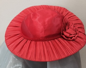Clearance! 1950's red plate hat