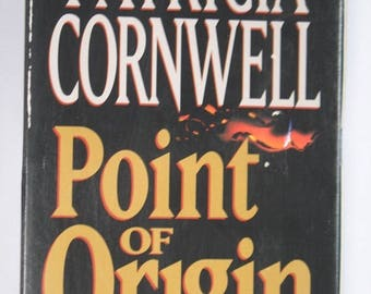 Vintage Audio Book Point of Origin by Patricia Cornwell