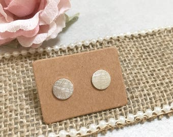 Circle Earrings ~ Silver/Gold/RoseGold