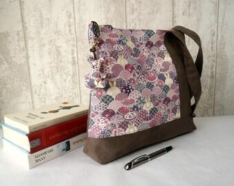 Pink tote bag , rabbit shoulder bag, every day bag,