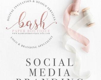 Social Media Branding, Facebook, Instagram, Twitter