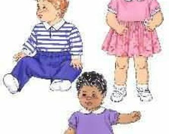 Kwik Sew 3375  Baby Bodysuit and Pants New in Envelope