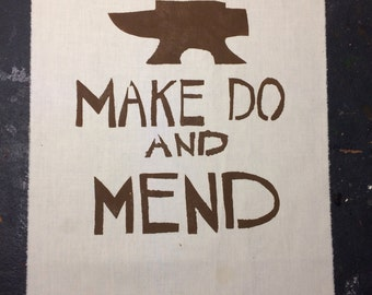 Make Do and Mend Patch