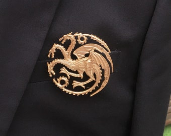 Game of Thrones House Sigils lapel pin Badge, Brooch,  - Baratheon, Lannister, Targaryen, Martell, Tully, Stark, Greyjoy, Arryn, Tyrell