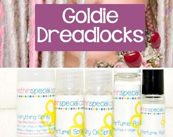 Goldie Dreadlocks Perfume, Perfume Spray, Body Spray, Perfume Roll On, Room Spray, Hair Perfume, Dry Oil Spray, You Choose the Product