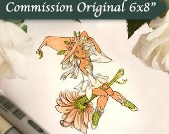 Pen & Ink Commission