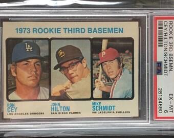 1973 Mike Schmidt Rookie Card - SHARP! WOW!