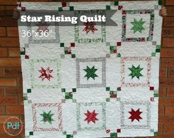 Star Rising Quilt pdf pattern