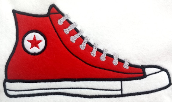 converse embroidery design