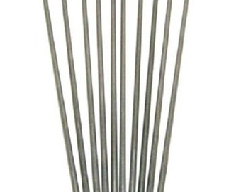 "10 Pcs Stainless Steel Mandrels - 3/32"" Lampwork Bead"