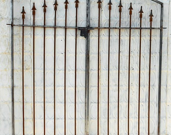 Wrought Iron Classic Gate - 5't x 5'w - Works With 5' tall Fencing