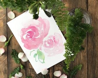 ROSIE - Stephanie Susan Illustration card-